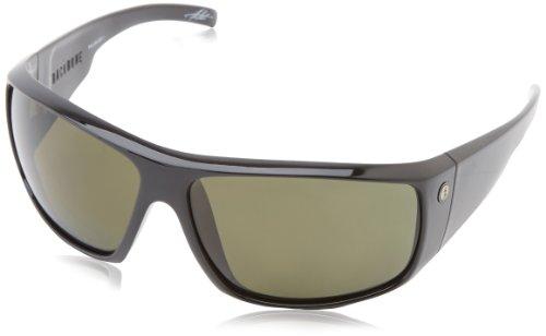 Electric Back Bone Wrap Polarized Sunglasses,Gloss Black,164 Mm