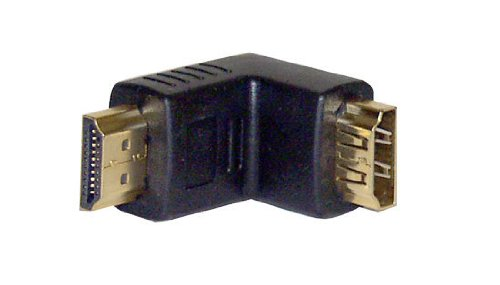 Pyle-Home Right Angled HDMI Male to Female Coupler PHDMFCI