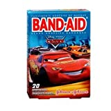 Band-Aid Band-Aid Bandages Disney Cars Assorted Sizes, 20 each (Pack of 3)