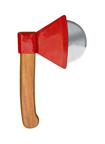 DCI Ax Pizza Cutter, Red/Brown