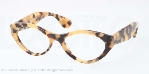 Miu Miu MIU MIU Eyeglasses MU 03MV PC81O1 Light Tortoise Gold 52MM