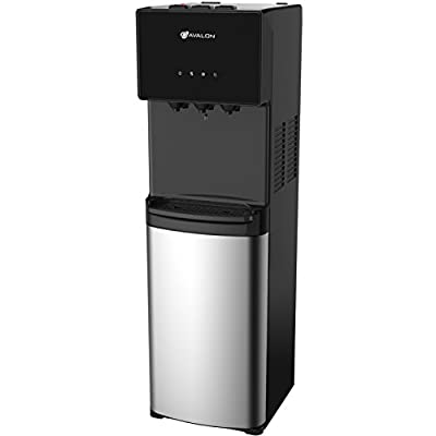Avalon A4BLWTRCLR Water Cooler Water Dispenser with 3 Temperature Settings, Stainless Steel