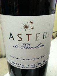 Aster De Bealieu (Chateau La Roche Beaulieu) Castillon Cotes De Bordeaux 2009 750Ml
