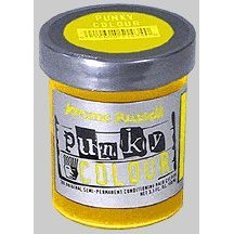 Jerome Russell Punky Color Bright Yellow - 3.5 oz (Neon Permanent Hair Dye compare prices)