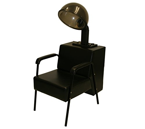 LCL Beauty 1000 Watt Quiet Operation Professional Salon Hooded Hair Dryer with Dryer Chair (Hooded Hair Dryer Chair compare prices)