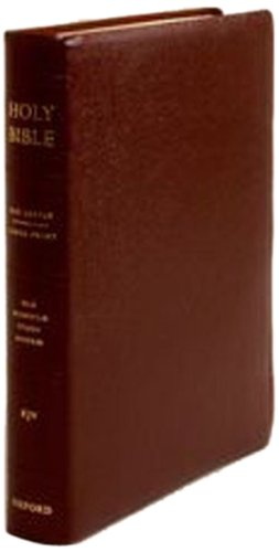 The Old Scofield Study Bible, KJV, Large Print Edition (Burgundy Genuine Leather)