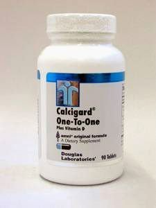 Douglas Labs - Calcigard One-To-One Plus D 90 Tabs