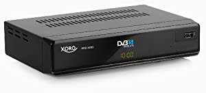 Xoro HRS 3000 DVB-S Digitaler Satelliten-Receiver (PVR Ready, USB 2.0) schwarz