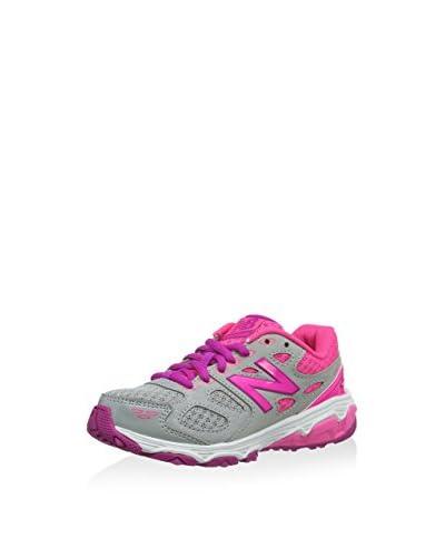New Balance Sneaker KR680ASY Grigio/Rosa EU 38 (UK 5)