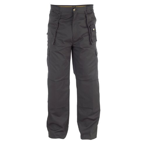 Caterpillar C820 Cargo Work Trouser Long Leg / Mens Trousers ( 40W x Long) (Black)