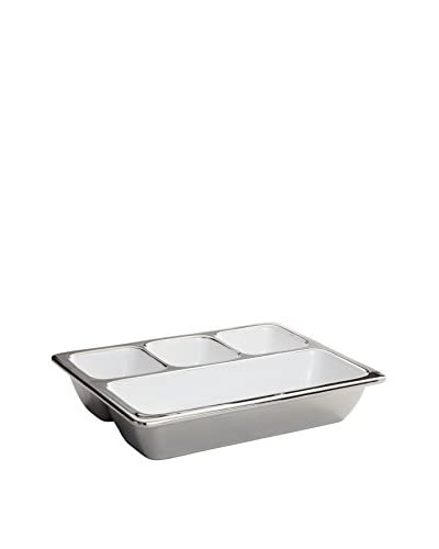 Torre & Tagus Talia Large 4-Section Appetizer Platter