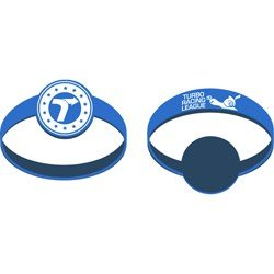 turbo party rubber wristband