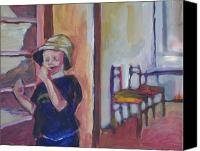 First Visit to Sarajevo Canvas Print / Canvas Art - Artist ALEKSANDRA BUHA
