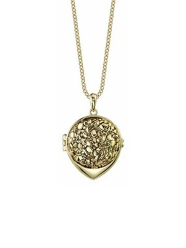 Belle Noel By Kim Kardashian Nugget Belle Locket - Gold