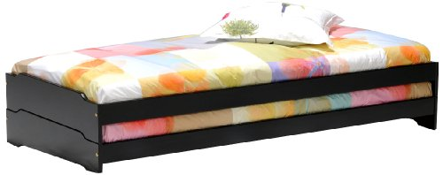 weber industries 208437 franck lit empilable avec sommier teinte dakar 90 x 190 cm burnirety blogs. Black Bedroom Furniture Sets. Home Design Ideas