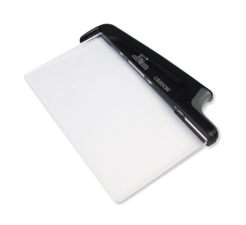 Carson PageGlow LED Lighted Paper-Back Book Light - Rechargeable Version (PG-10R)