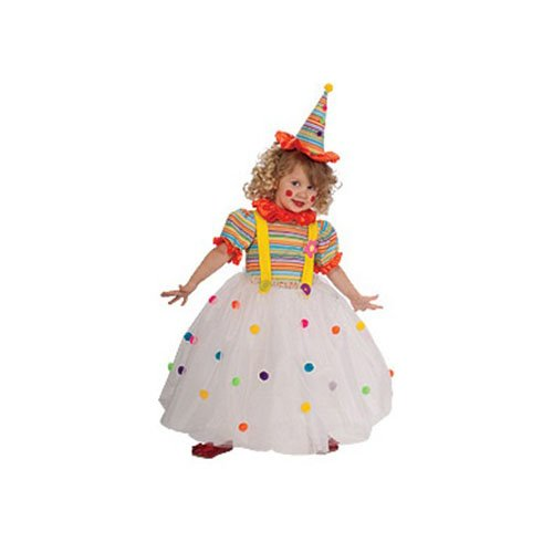 Candy Clown Child Costume Size Toddler