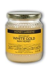 Raw Honey White Gold (Natural) - 1 lb - Liquid