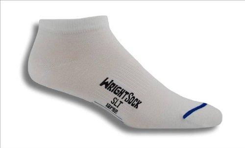 Wrightsock WrightSock Ultra Thin Low Socks - 2 Pack White, XL
