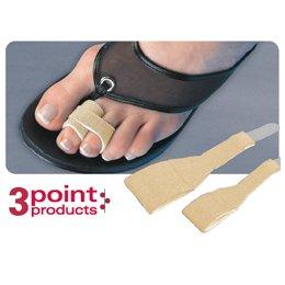 Toe Loops Hammertoe Wrap in Beige Width / Pack Size: Narrow / Pack of 5