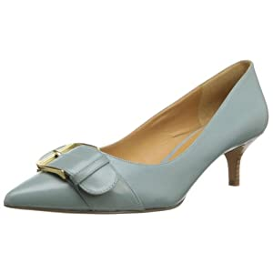 Nine West Women's Paylette Dress Pump,Aqua,9.5 M US