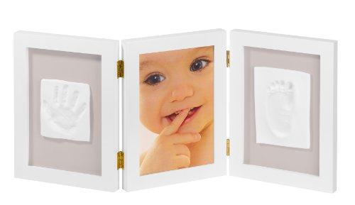 my-sweet-memories-34122003-marco-triple-para-foto-y-2-huellas-de-bebe-color-blanco