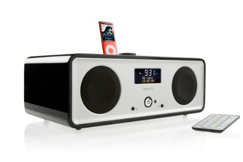 Ruark Audio R2i DAB+  &  FM Radio with Exclusive RotoDial Control in Midnight Black Gloss