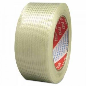 "Tesa Tapes Performance Grade Filament Strapping Tapes 319 3/4""x60y Strapping Tape Fiberglass"