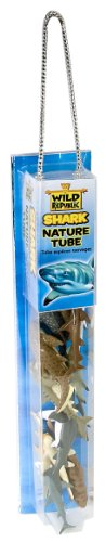 Wild Republic Shark in Nature Tube