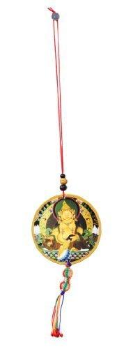 Tibetan Buddhist Guru Rinpoche Car Hanging Decoration, Wall Hanging, Rear View Mirror Decoration,…