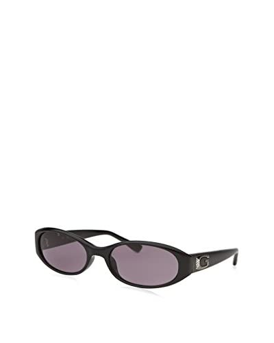 Guess Women's Oval Sunglasses, Black/Purple As You See