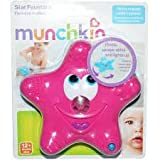 Munchkin Star Fountain, Mini jets create a fun fountain, Floats and spins, Color: Pink