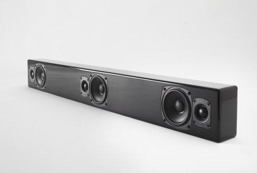 M&K Sound Mp9-Blk On-Wall Soundbar System - Black