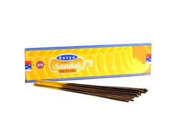 Satya Incense Sticks - 30g (Super Sandal)