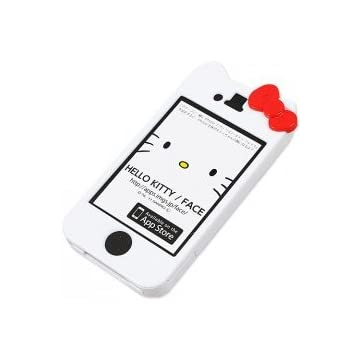 グルマンディーズ ハローキティiPhone4/4S専用キャラクタージャケット SAN-73KTA