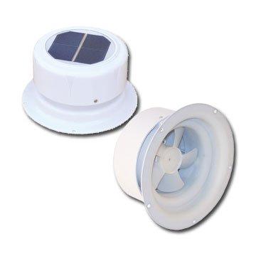 Ultra-Fab 53-945001 Mini Solar Plumbing Vent White (Rv Plumbing Vent Cap compare prices)