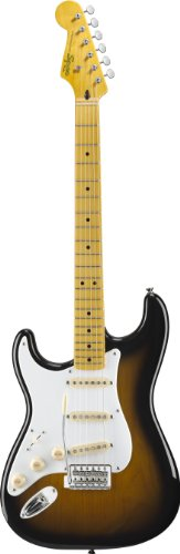 Squier By Fender Classic Vibe '50'S Stratocaster Electric Guitar, Left Handed, 2-Tone Sunburst