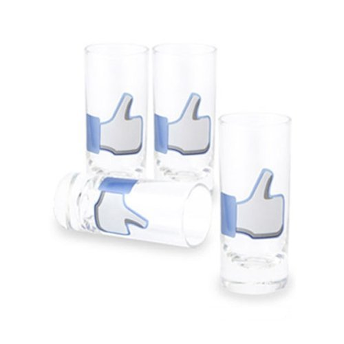 Like! Social Media Shot Glass