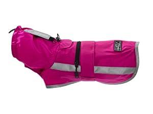 Hurtta 930644 Lifeguard Sturm Hoodie Regenjacke für Hunde 75 cm, rosa