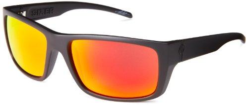 Electric Sixer Es11801062 Wrap Sunglasses,Matte Black,61 Mm