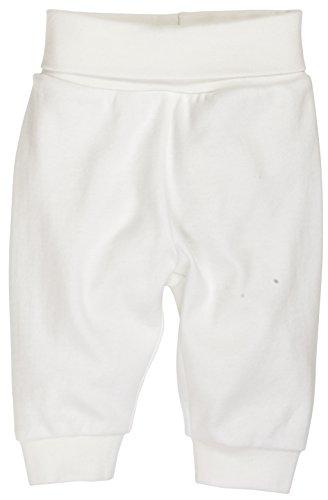 Schnizler Unisex Baby Hose Babyhose, Jogginghose mit elastischem Bauchumschlag, Oeko - Tex Standard 100, Gr. 50, Beige (natur 2)