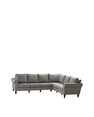 Homeware Avery 3 Corner 2 Sectional, Nickel