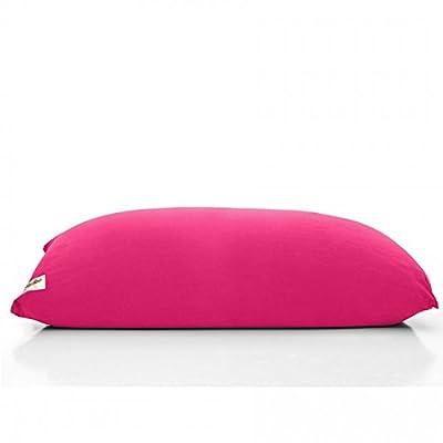 [全15色]YOGIBO MAX 全長170cm 大人数 変形自在 椅子 ソファー ベッド にも 自由に移動出来る マイクロビーズ クッション ビーズ 人をだめにするソファ スノービーズ ヨギボー マックス (ピンク)