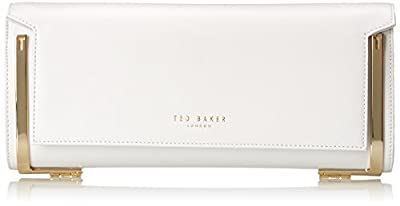 Ted Baker Lyric Exotic Hinged Corners Clutch