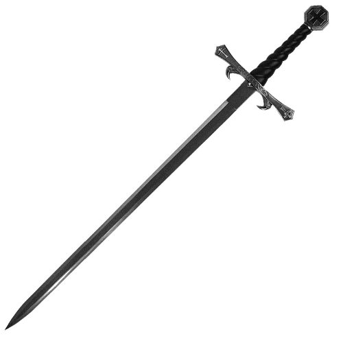 Premium Fighting Crusader Sword with Sheath