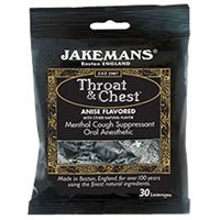 Jakemans Lozenge,throat and Chest - 30 Ct, Pack of 6