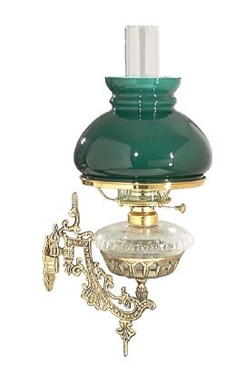 B Amp P Lamp Wall Bracket Cast Brass P Amp L Wshade Complete
