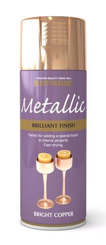 400ml Brilliant Metallic Bright Copper