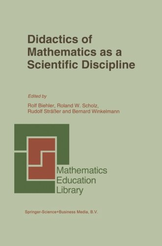 Didactics of Mathematics as a Scientific Discipline (Mathematics Education Library)