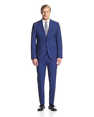 Armani Collezioni Men's 2 Button Notch Lapel Suit